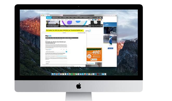 Peek & Pop am Mac: So nutzt du eine Multitouch-Geste für die Webseiten-Vorschau am Mac