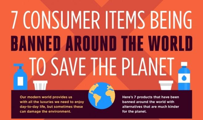 7 Konsumartikel, die verboten wurden, um die Welt zu retten