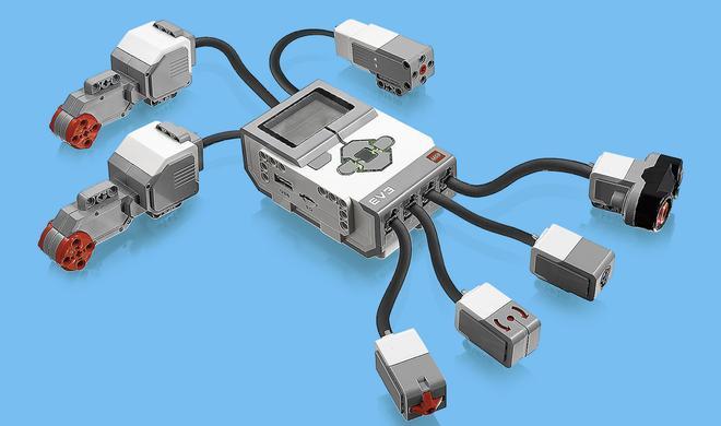Mindstorms EV3: Linux trefft Lego