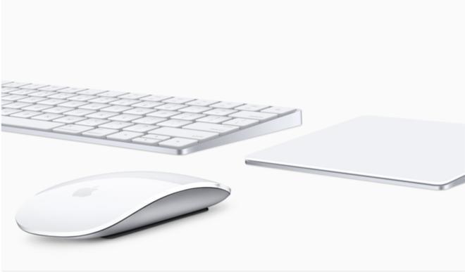 Kabellose Apple Tastatur mit nützlicher Zusatzfunktion