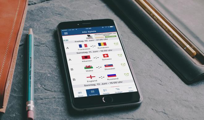 Pocket EM 2016: Damit verpasst ihr kein einziges EM-Spiel
