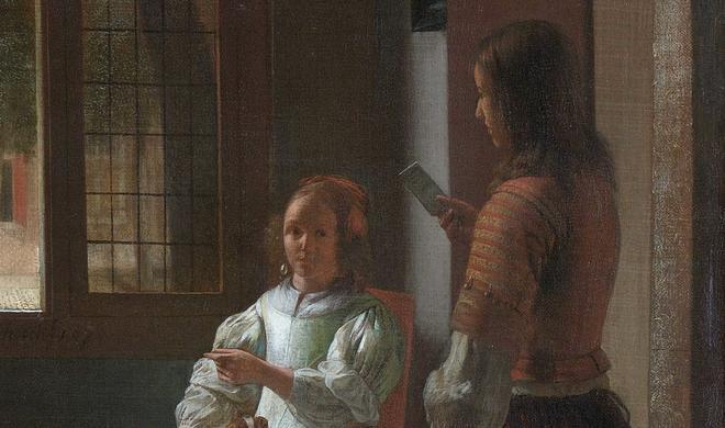 iPhone soll in Bild aus dem Jahr 1670 versteckt sein
