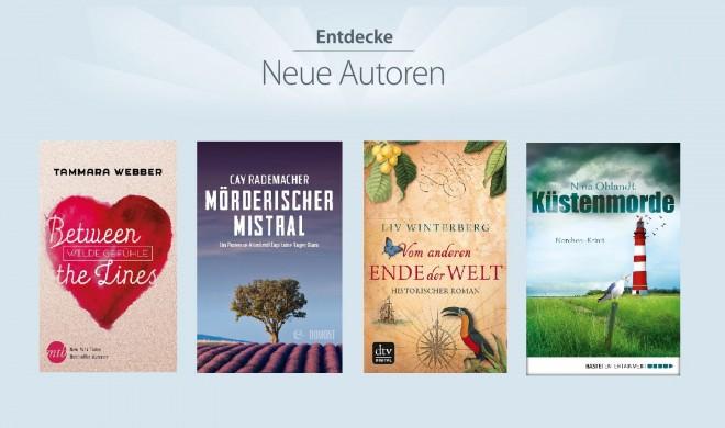 Vier kostenlose Bücher im iBooks Store – jetzt zuschlagen