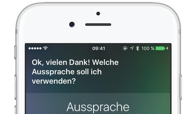 So spricht Siri Namen endlich richtig aus