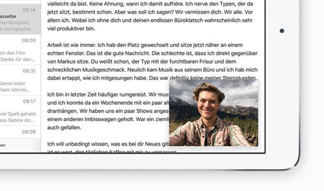 So deaktivierst du die Bild-in-Bild-Funktion am iPad