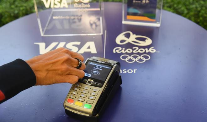 Überholt Visa Apple Pay mit einem Schmuckstück?
