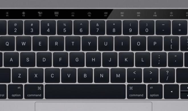 MacBook Pro 2016: Sieht so die OLED-Touchleiste aus?