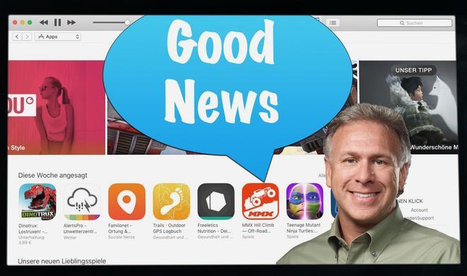 Apple bietet Entwicklern jetzt 85% Umsatzbeteiligung bei Abos