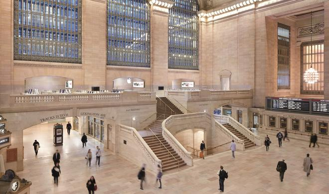 New Yorker Apple Store wird am hellichten Tag beklaut