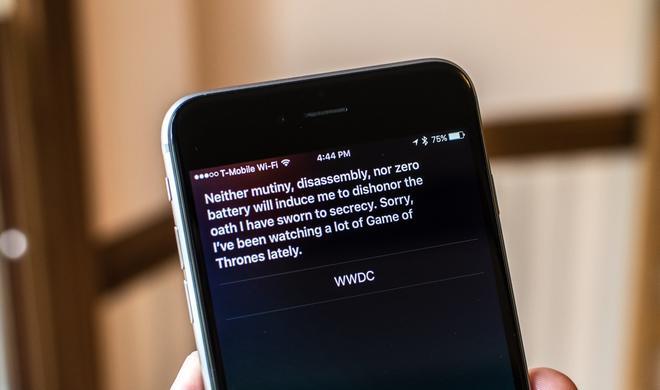 Siri lässt sich nicht erpressen!
