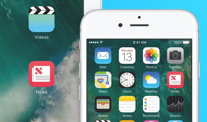 iOS 10 erlaubt das Löschen von Apple-Apps vom iPhone und iPad