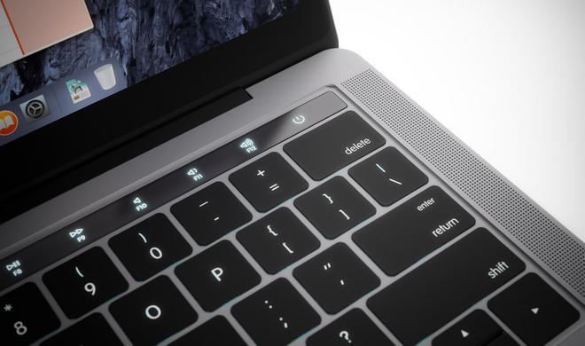 Versteckte Hinweise auf Funktionen der OLED-Leiste in macOS Sierra