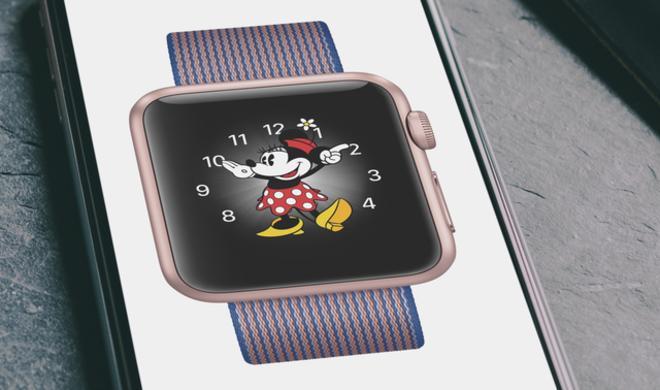 Micky Maus sagt auf Apple Watch mit watchOS 3 jetzt die Zeit an