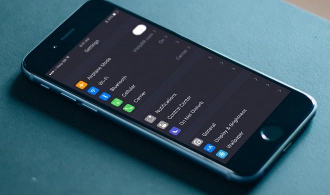 iOS 10: Dark Mode entdeckt