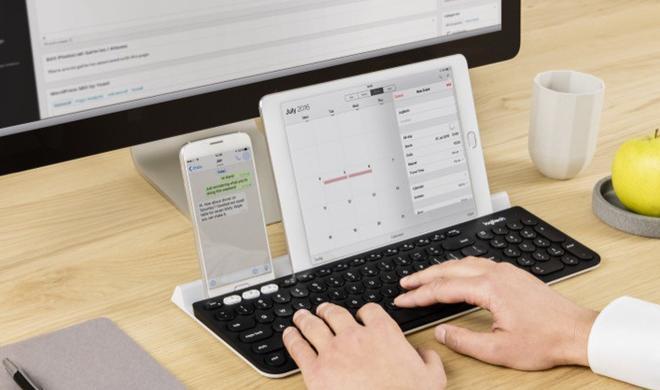 Logitech K780: Mit dieser Tastatur bedient ihr Mac, PC, iPhone und iPad