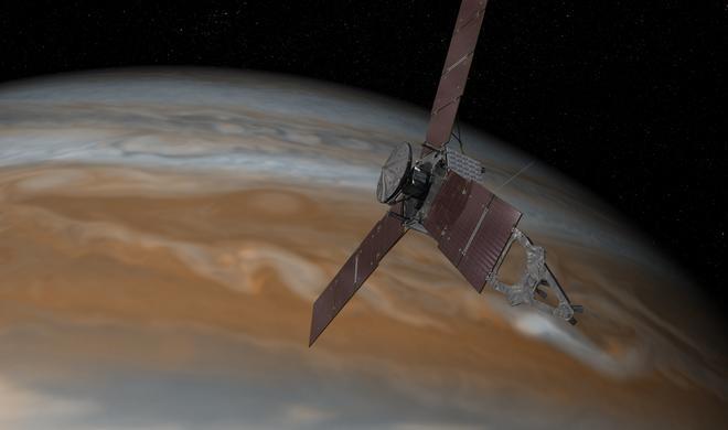 So könnt ihr den Kurzfilm zum Jupiter-Anflug der NASA-Sonde Juno ansehen