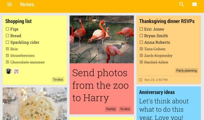 Google Keep ordnet eure Notizen automatisch in Kategorien