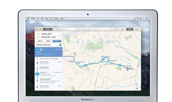 Nie wieder zu spät: So spielen der Apple Kalender und die Karten-App im Team