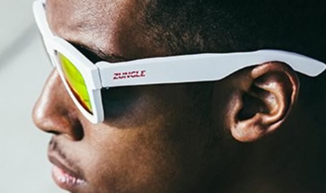 Zungle Panther nutzt euren Schädel für den Sound aus der Sonnenbrille