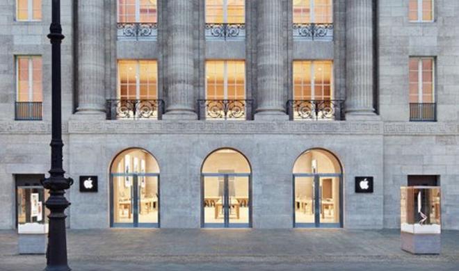 Giftalarm: Berliner Apple Store wegen Kunstaktion evakuiert