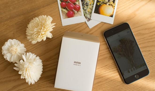 Fujifilm Instax Share SP-2 - der Smartphone-Ausdrucker