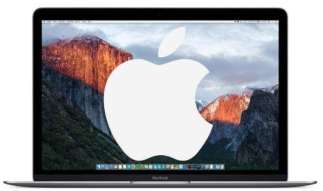 So hinterlegen Sie das Apple-Logo auf dem Mac für die Nutzung am iPhone