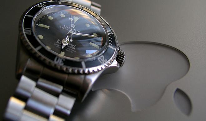 Apple Watch schlägt Rolex