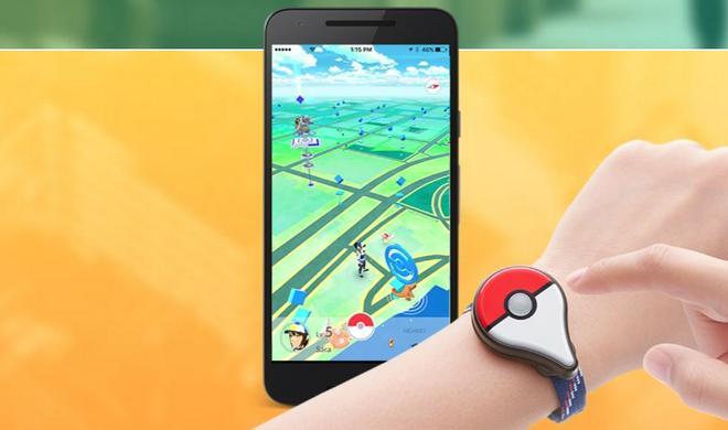 Pokémon GO Plus verschiebt sich