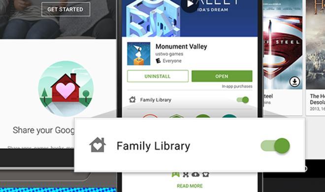 iPhone- und iPad-Nutzer können Googles Familienbibliothek nutzen