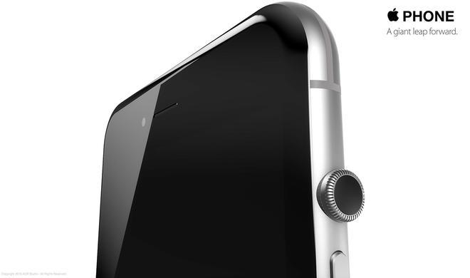 Uhrenkrone für das iPhone?