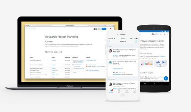 Dropbox Paper - das wird euer virtuelles Büro