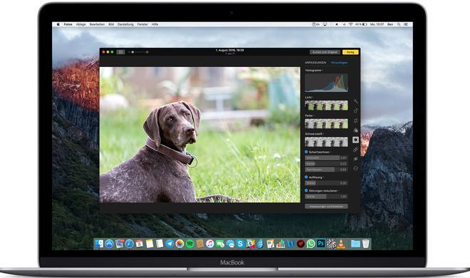 So erhalten Sie bessere Anpassungsmöglichkeiten in der Fotos-App am Mac