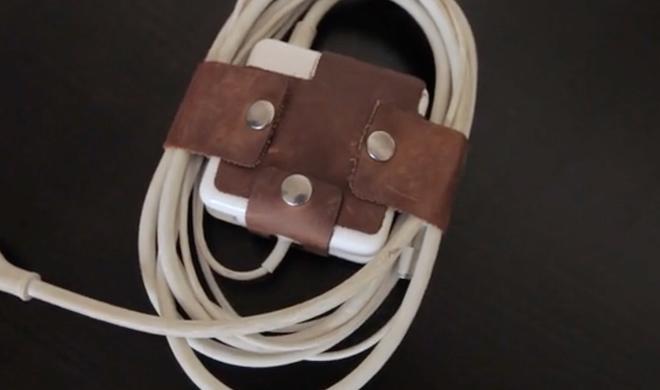 Nervige MacBook-Netzteilkabel im Zaum halten