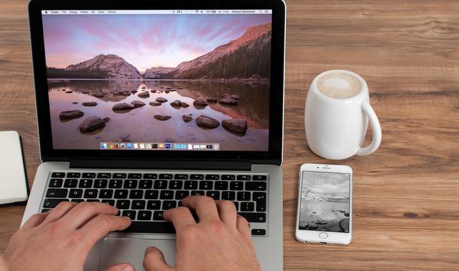 So verschieben Sie Dateien am Mac unter macOS Mojave