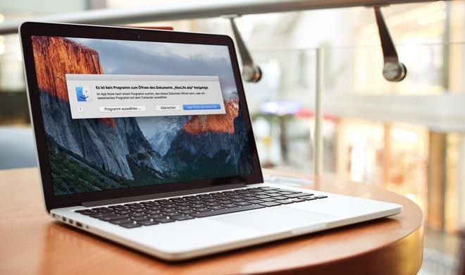 OS X: Neue Schadsoftware gibt vor, nach Apps zu suchen