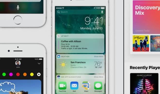 Beta 7 von iOS 10 für Entwickler und Beta 6 für öffentliche Betatester