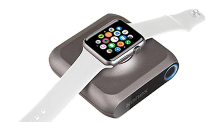 Kanex GoPower Watch: Akku lädt Apple Watch unterwegs auf