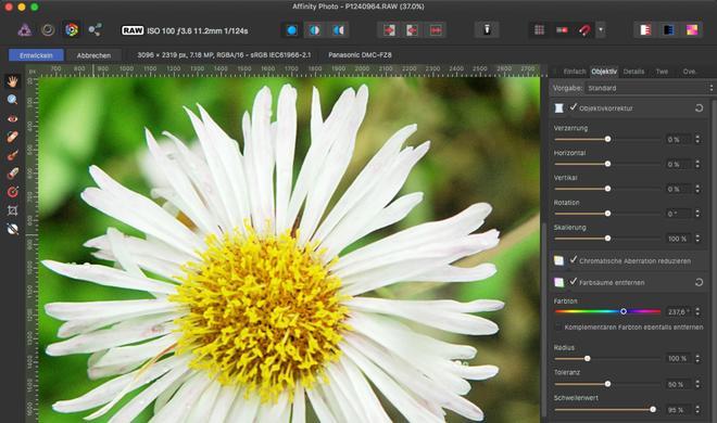 Affinity Photo am Mac: So arbeiten Sie mit RAW, Stapel und Panoramen
