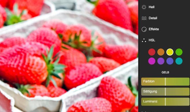 Polarr 3 im Test: Alternative Bildbearbeitung am Mac, iPhone und im Browser