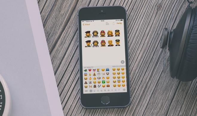 Apple will neue Berufe als Emoji darstellen