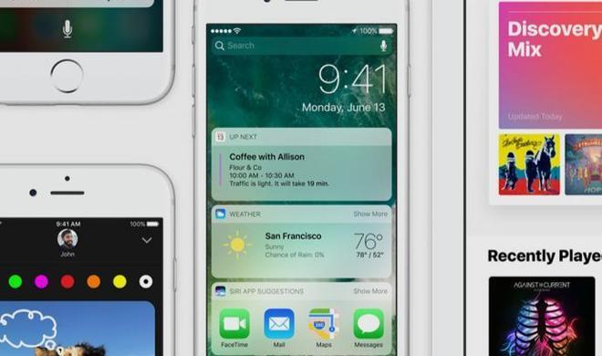 Apple bringt iOS 10 Beta 8 für Entwickler, Beta 7 für Normalos