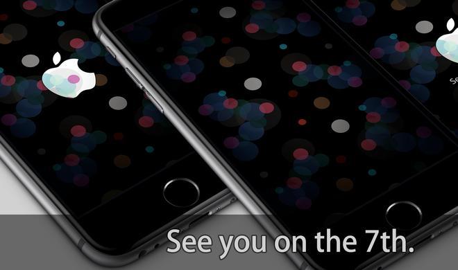 So erhalten Sie coole Wallpaper zum iPhone-7-Event