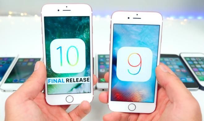 iOS 10 macht sich auch auf älteren iPhones gut