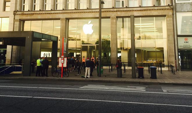 Apple killt den iPhone-Hype: Impressionen vom iPhone-7-Verkaufsstart