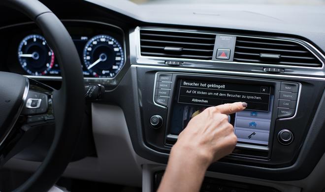 App-Connect von VW: Schnittstelle Auto