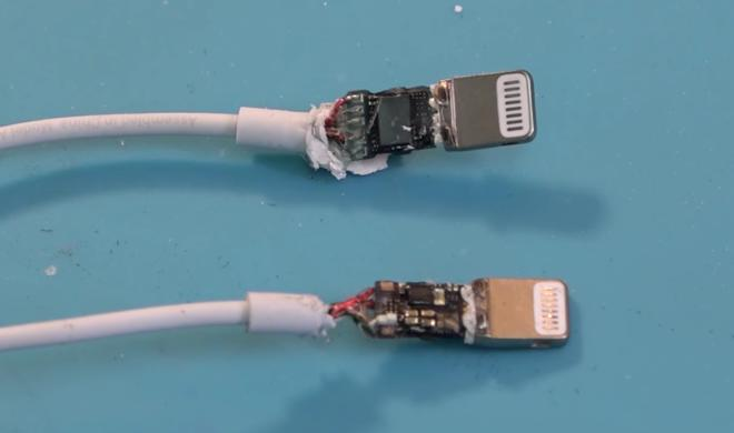iPhone 7: Video zeigt Innenleben des Lightning-Klinke-Adapters