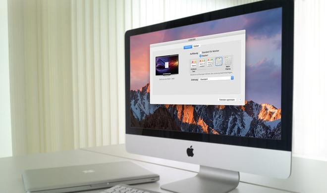 macOS Sierra: Nutzer beklagen Verlust von Hi-DPI-Skalierung