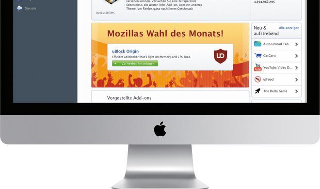 Die 20 besten Add-ons für Firefox am Mac: Tuning für Web-Browser