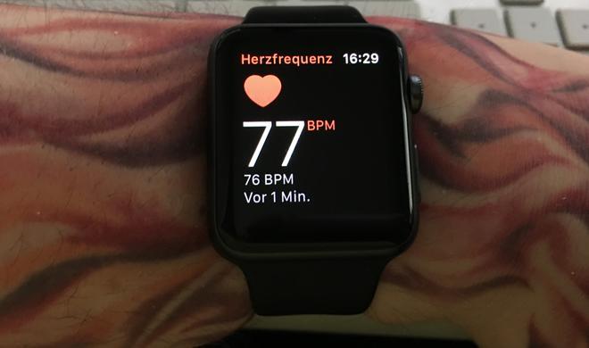 Apple Watch soll Schlaf beobachten und mehr Fitness-Features bekommen
