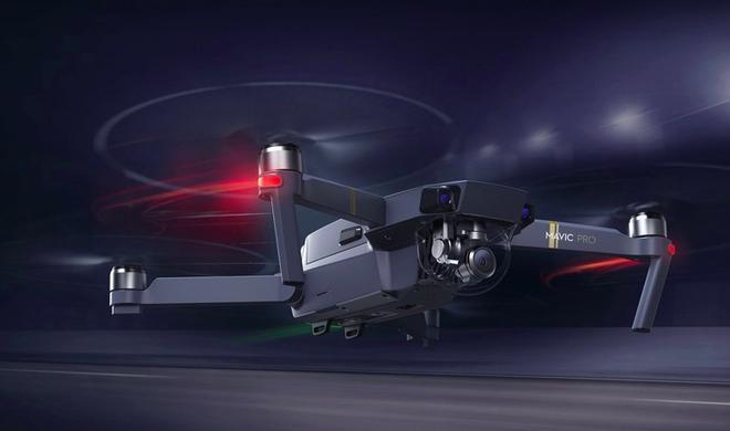 DJI Mavic Pro - winzige Faltdrohne mit 4K-Auflösung und Objekterkennung